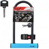 Zapięcie rowerowe Prox u-lock niebieskie