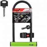 Zamknięcie prox u-lock 180x320 mm. zielone kluczyk