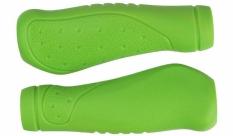 """Chwyty kierownicy atb ,,ergo"""" komfort 125 mm zielone"""