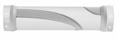 Chwyty m-wave biało - szare 130 mm skręcane