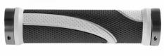 Chwyty m-wave czarno - szare 130 mm skręcane