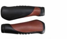 Chwyty Velo Prox 130mm czarno-brązowe comfort gel
