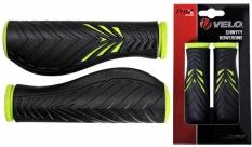 Chwyty Velo Prox 130mm zielono-czarne comfort gel