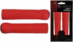 Chwyty Velo Prox 130mm czerwone silicon