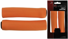 Chwyty Velo Prox 130mm Pomarańczowe silicon
