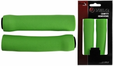 Chwyty Velo Prox 130mm zielone silicon