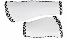Chwyty Velo Prox 140/95mm biało-czarne ergo