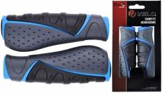 Chwyty Velo Prox 130mm niebiesko-czarno-szare Comfort