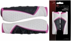 Chwyty Velo Prox 130mm różowo-biało-szare Comfort