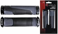 Chwyty rąćzki rowerowe Velo Prox vlg-776ad3 czarno-szare