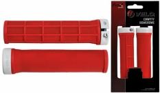 Chwyty rączki rowerowe Velo ProX 132mm czerwone