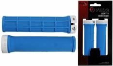 Chwyty Velo Prox 132mm niebieskie skręcane