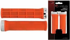 Chwyty rączki rowerowe Velo Prox 132mm pomarańczowe