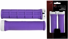 Chwyty Velo Prox 132mm purpurowe skręcane