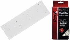 Owijka kierownicy Velo Prox korkowa+gel biała