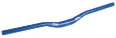 Kierownica m-wave alu gięta 31,8x700 mm niebieska