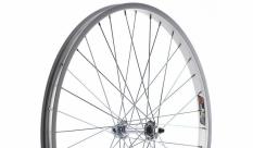 Koło rowerowe przednie 24 alu srebrne