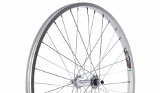 Koło rowerowe przednie 24 atb srebrne