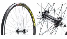 Koło rowerowe przednie 24 atb Swift stożek czarny