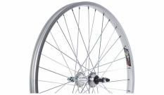 """Koło rowerowe tylne 24"""" atb  srebrne"""