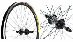 Koło rowerowe tylne 24 atb Swift stożek czarny