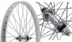 Koło rowerowe przednie 26 Cruiser Stars j32s srebrne