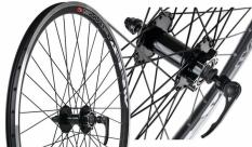 Koło rowerowe przednie 24 Swift stożek Joytech d041 tarcza