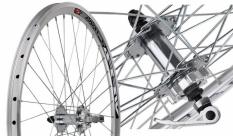 Koło rowerowe przednie 24 Swift stożek Joytech d071 tarcza