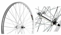 Koło rowerowe przednie 26 STARS J20A srebrne
