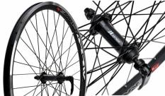 Koło rowerowe przednie 26 Swift stożek QR czarne