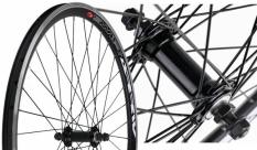 Koło rowerowe przednie 26 Swift stożek czarne