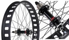 Koło rowerowe tylne 26 Fat Bike Novatec d202 otwory