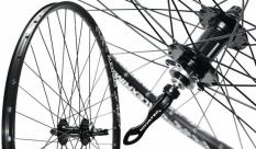 Koło rowerowe przednie 26 Alexrims MD21 czarne