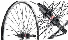"""Koło rowerowe tylne 26"""" Alexrims ACE18 czarne"""