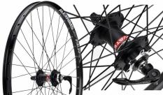 """Koło rowerowe przednie 27,5"""" Alexrims FR30 czarne"""