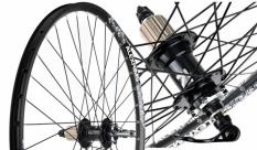 Koło rowerowe tylne 27,5 Alexrims kaseta czarne