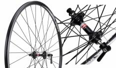 Koło rowerowe przednie Alexrimx DA22 700 czarne