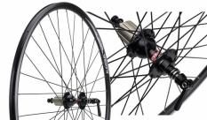 Koło rowerowe tylne Alexrims DA22 700 czarne
