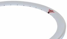Obręcz 700 fix swift j13 dt stożek 43 mm biała  36 otw.
