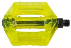 Pedały m-wave bmx polycarbon zielone