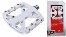 Pedały vp - 007  aluminiowe białe oś cr-mo (box)