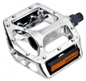 Pedały VP 558 aluminiowe platforma srebrne 1/2