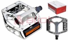 "Pedały vp - 558 aluminiowe platforma srebrne 9/16"" (box)"