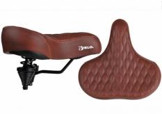 Siodełko rowerowe Velo Prox vl-8080 brązowe