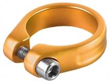 Obejma z imbusem m-wave  31,8mm złota