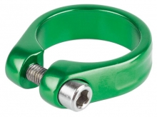 Obejma  z imbusem M-Wave 34,9mm zielona