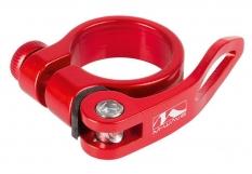 Obejma z szybkozamykaczem M-Wave 31,8mm czerwona