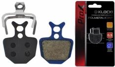 Klocki do hamulca tarczowego Prox półmetaliczne Formuła Oro