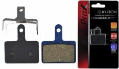 Klocki hamulca tarczowego prox półmetaliczne shimano deore m525/m515/m475/c501/c60
