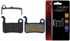 Klocki hamulca tarczowego prox półmetaliczne shimano xtr m965/966 xt m765/lx m858